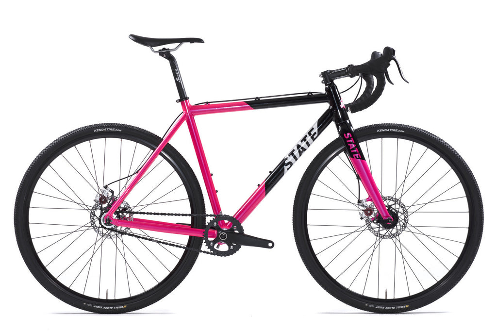 Thunderbird - Gravel / CycloCross Bike: Black & Pink
