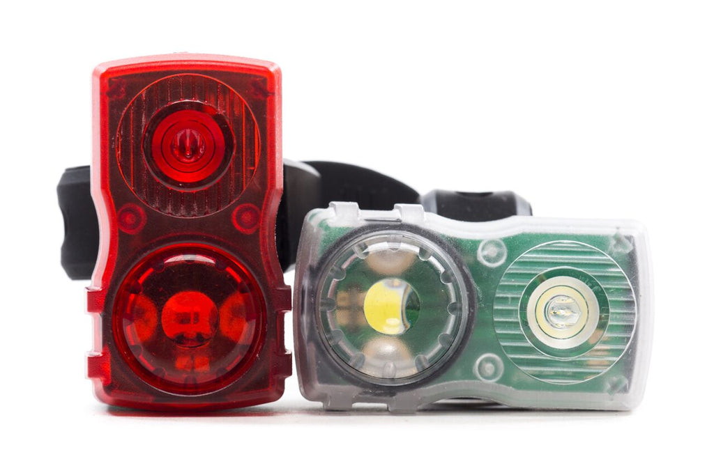 State Bicycle Co. - USB Rechargeable LED Bike Lights Set