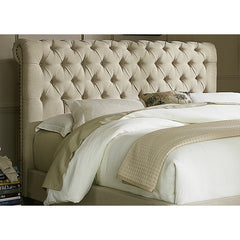 Upholstered Overstock Sleigh Bed