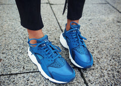 Sincerely Jules in Blue Nike Huarache Sneakers