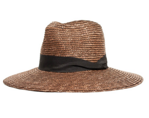 Brixton Willow Hat - Brown/Black