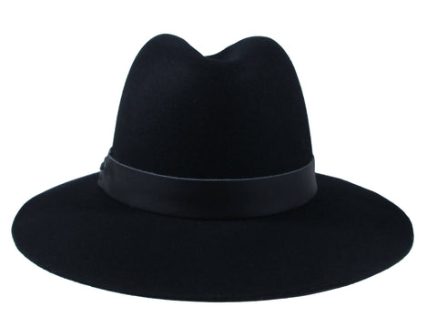 Hat Attack Classic Fedora In Black