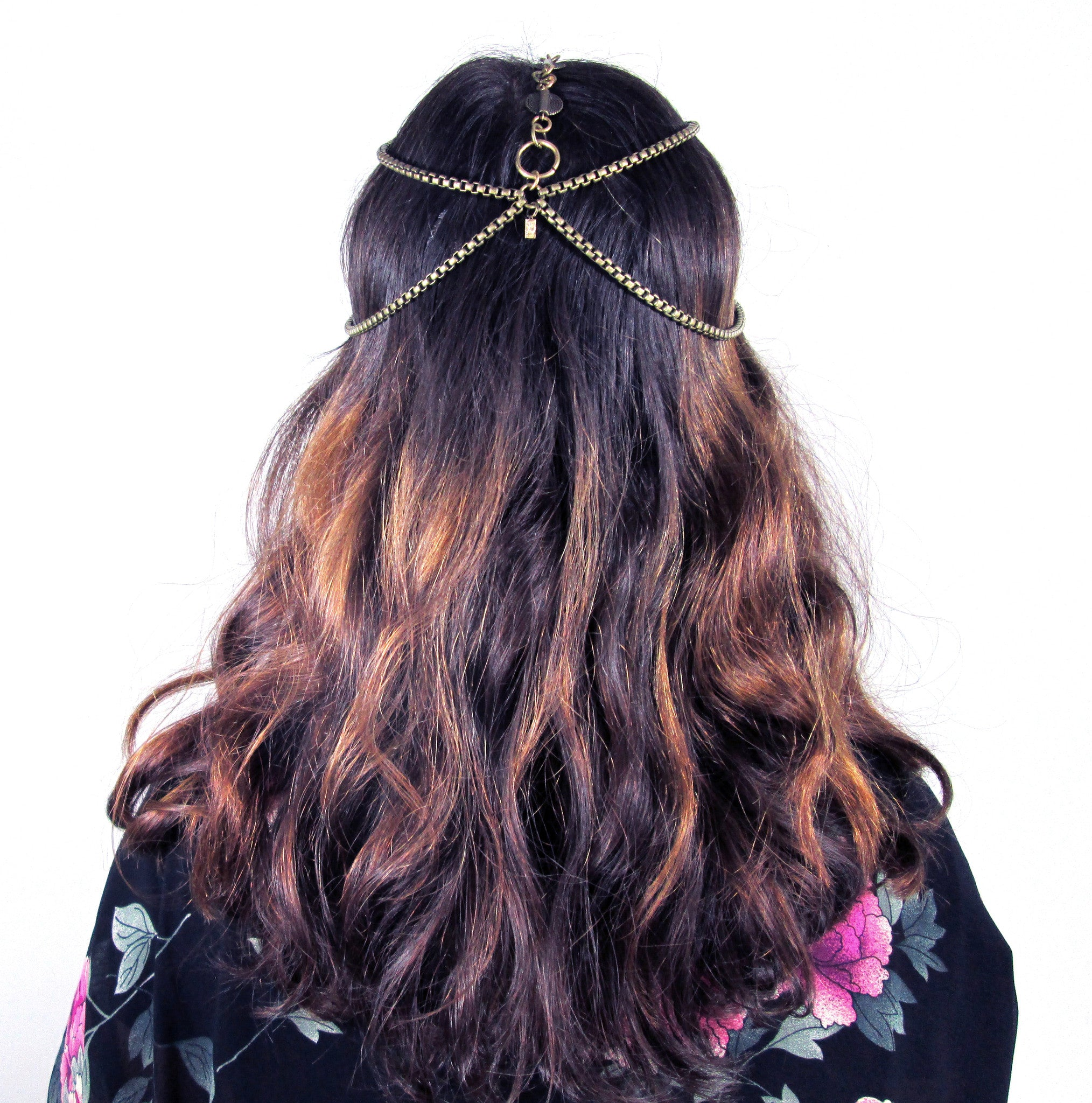 Haati Chai Antara Head Chain / Brass