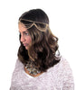 Boho Draped Head Chain / Gold