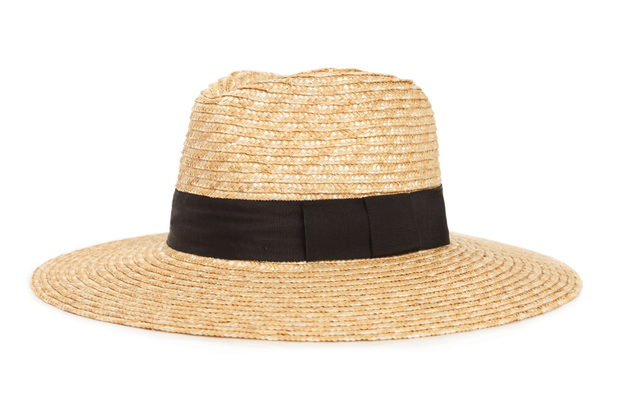 Brixton Joanna Straw Fedora - Honey