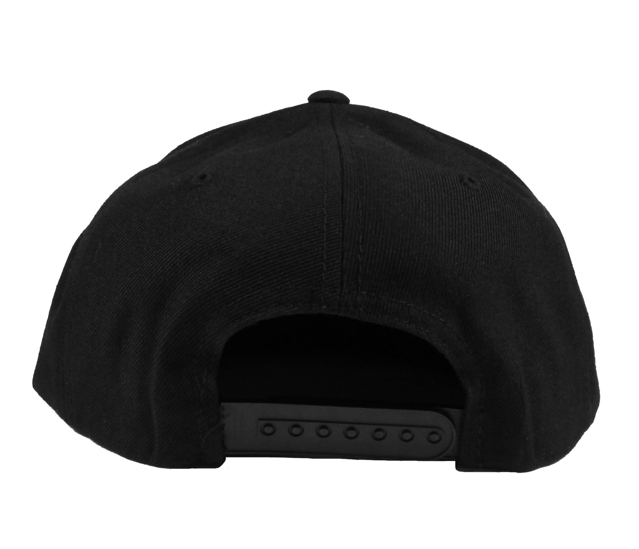 Alex & Chloe Black Snap Back Back View