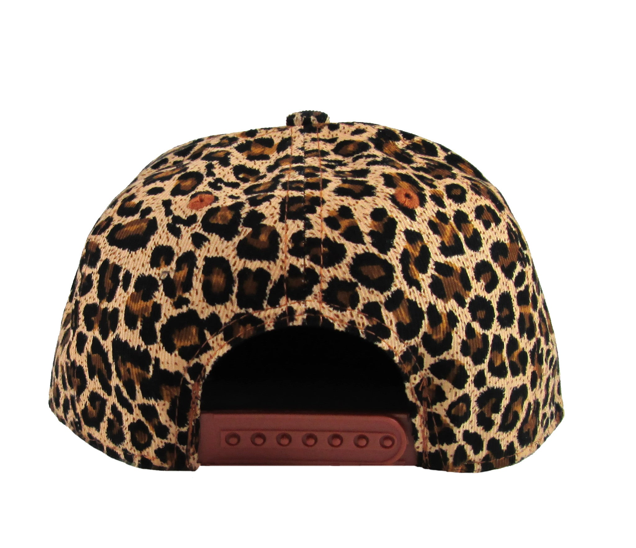 Alex & Chloe Leopard Snap Back Back View