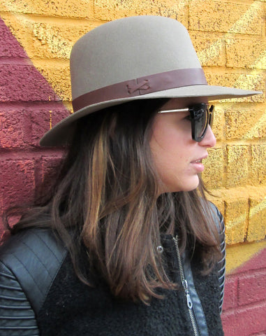Hat Attack Brown Fedora