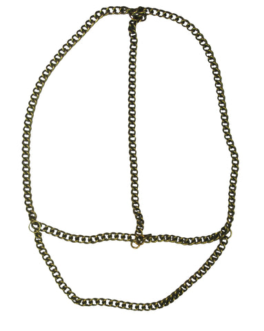 Haati Chai Shona Head Chain Brass
