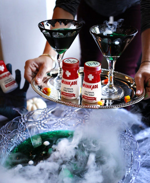 How to Host the Ultimate Halloween Pre-game with DrinkAde Tequila Zombie Punch