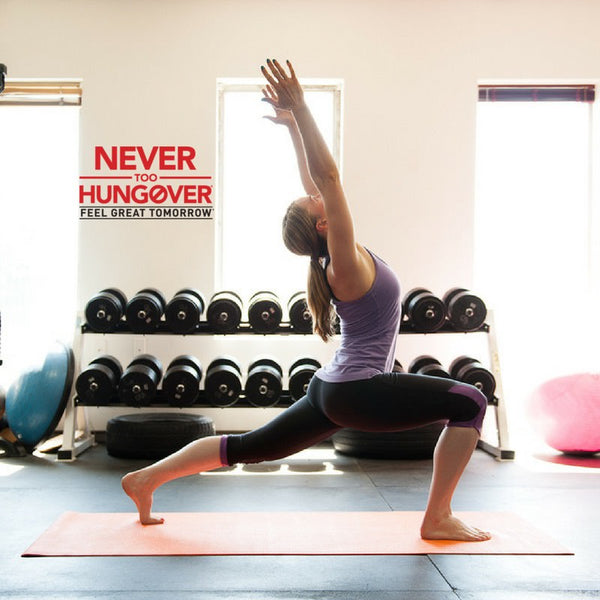 Tips to kickstart a healthy lifestyle from Never Too Hungover!