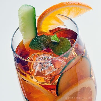 How to make Pimm's Cup