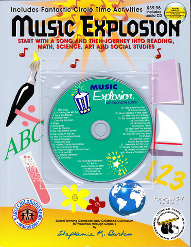 Music Explosion Curriculum Book and Music CD