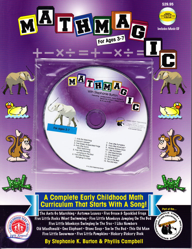 MathMagic Curriculum Book with Music CD