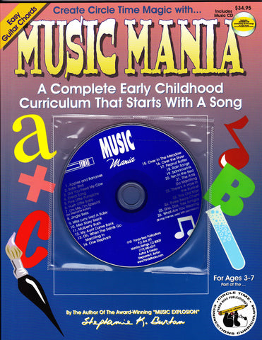 Music Mania Curriculum Book and Music CD