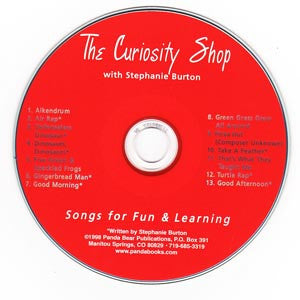Curiosity Shop Music CD