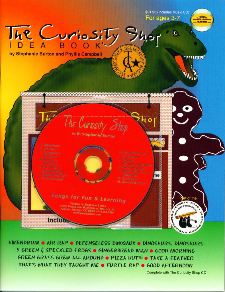 The Curiosity Shop Curriculum Book and Music CD