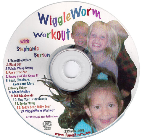 WiggleWorm Workout CD