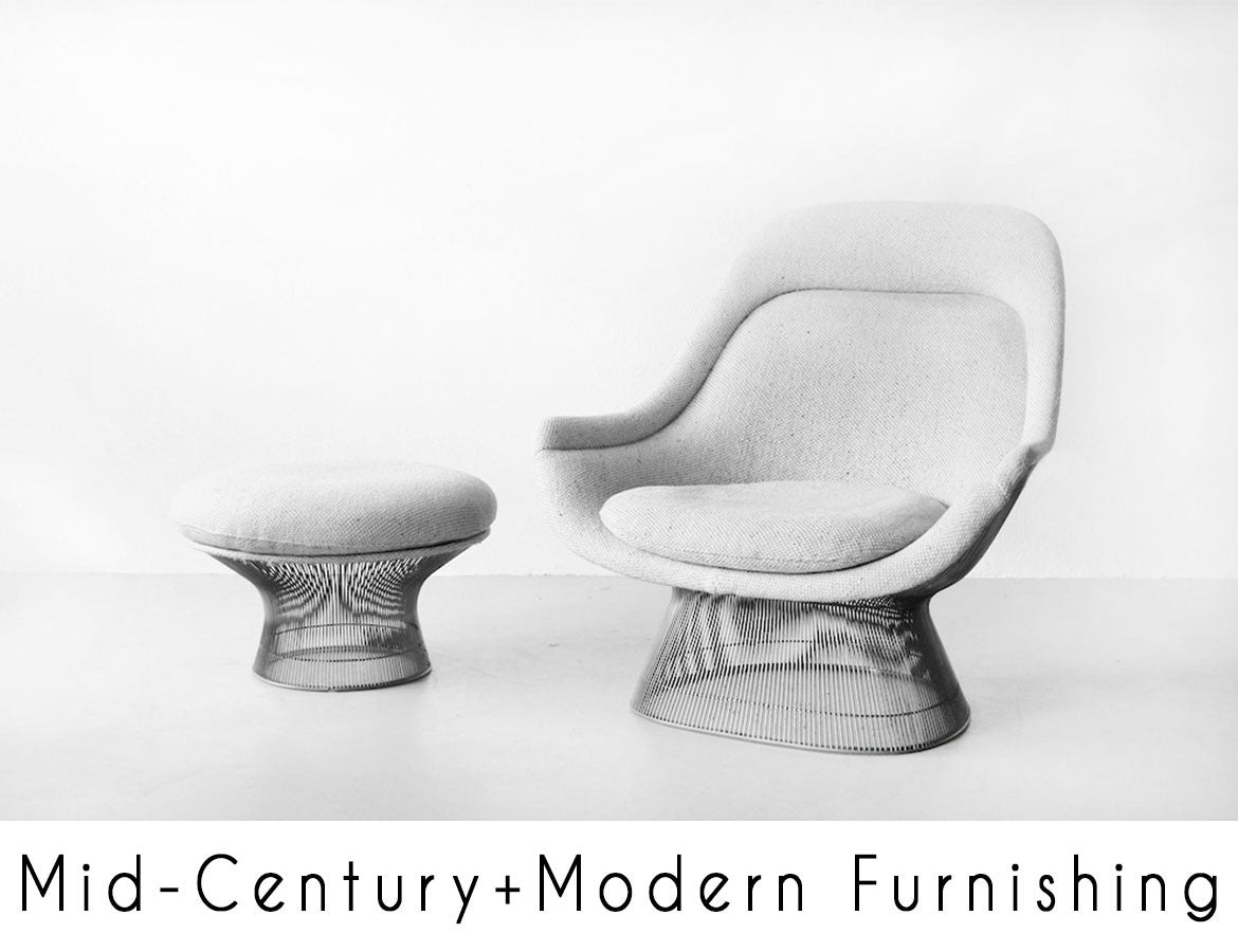 Mid-Century and Modern Furnishing