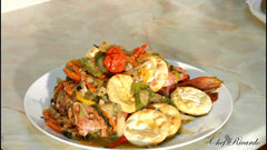 Traditional Jamaican meal served hot daily at DAM foods