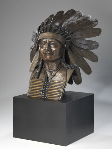 """Plains Indian Chief"" - Icon Artworks"
