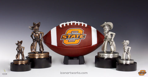 Pistol Pete Desktop Sculpture