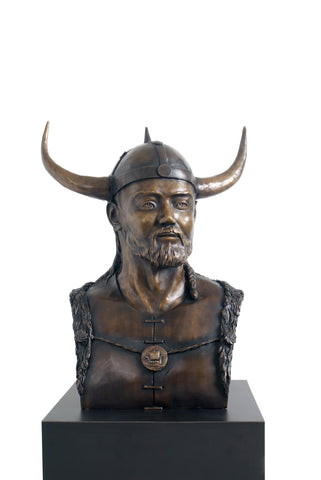 """Viking Bust"" - Icon Artworks"
