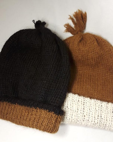 100% Alpaca - Reversible Hat