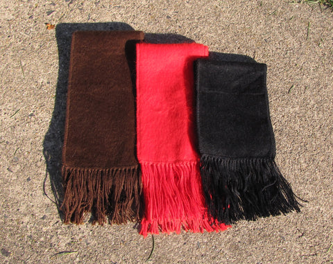 "Alpaca Blend ""Carrasco"" Narrow Scarf"