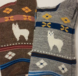 Alpaca Watching Socks