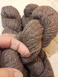 100% Alpaca-Rose Grey – 2Ply-Medium Weight Yarn