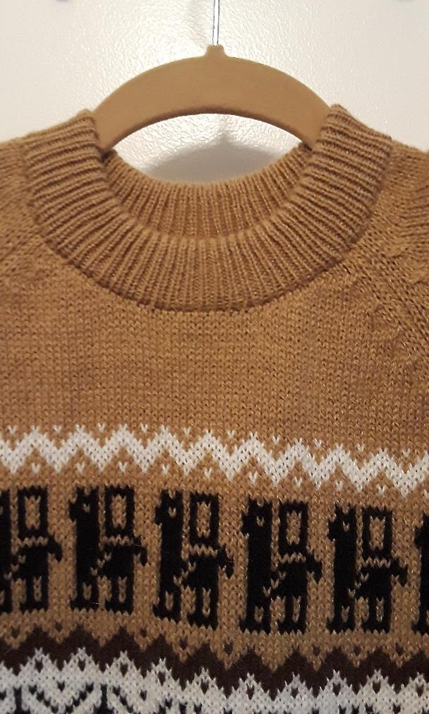 Alpaca Pull-Over Sweater