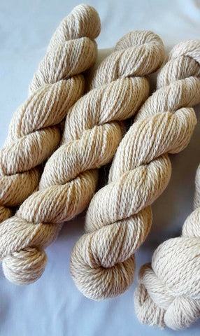 100% Alpaca Yarn – Natural, Off-White