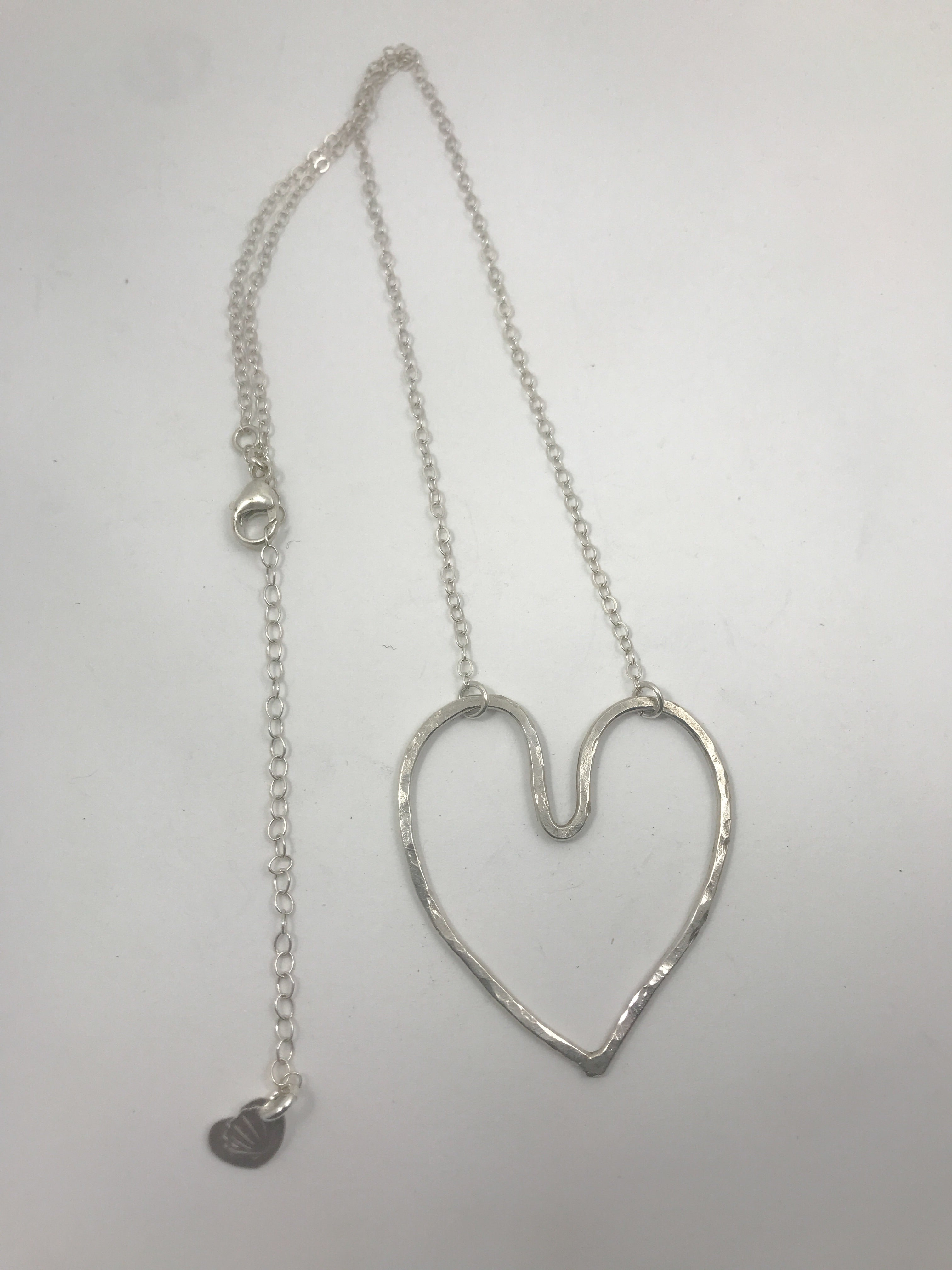 Sterling silver Love Heart