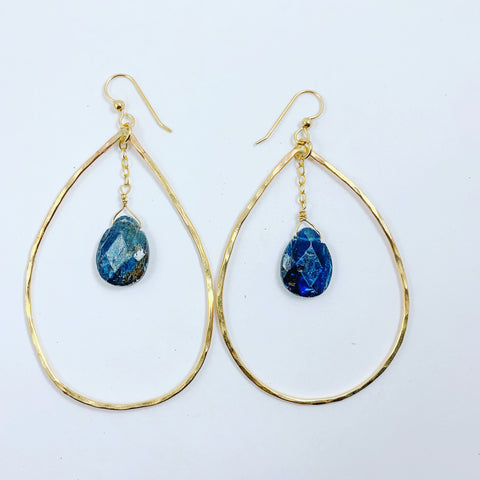 Kyanite Tear Drops