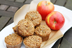 San Diego Honey Company Apple Oatmeal Honey Muffins