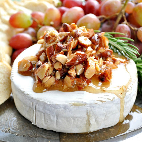 San Diego Honey Company Brie and Honey Recipe