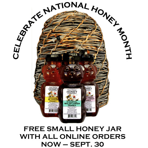 National Honey Month San Diego Honey Company