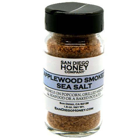 Applewood Smoked Sea Salt | San Diego Honey Company®