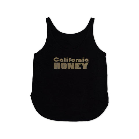 California Honey Tank - Black | San Diego Honey Company®