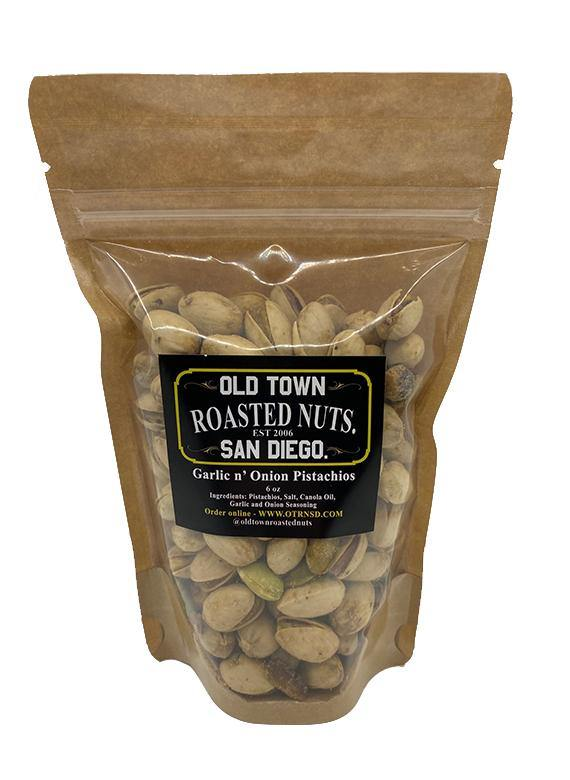 Garlic & Onion Pistachios - San Diego Honey Company®