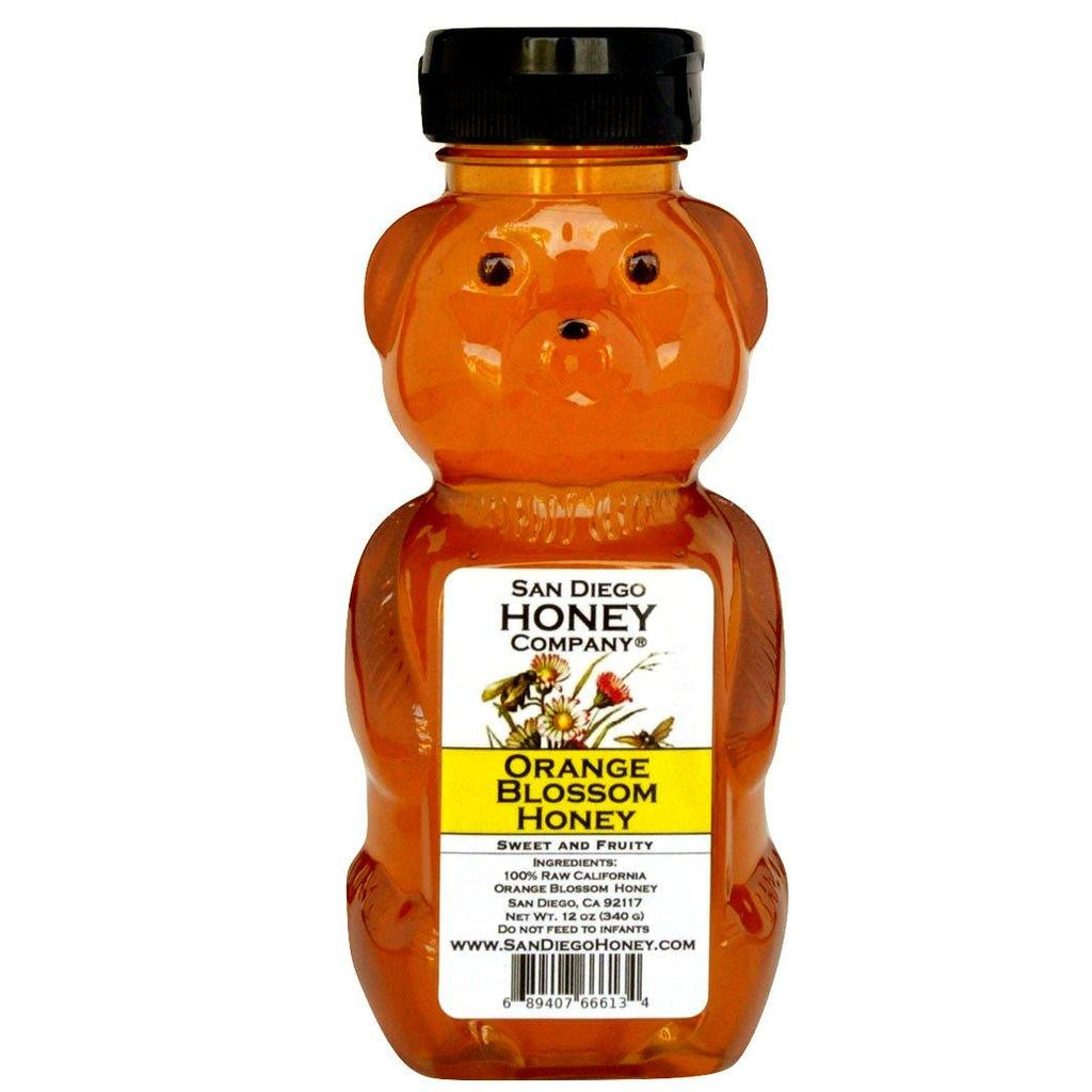 Raw Southern California Orange Blossom Honey - San Diego Honey Company®