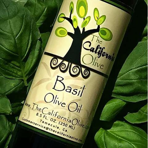 Basil Extra Virgin Olive Oil | San Diego Honey Company®