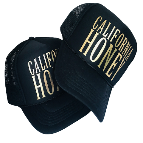 California Honey Hat - Adult & Kid