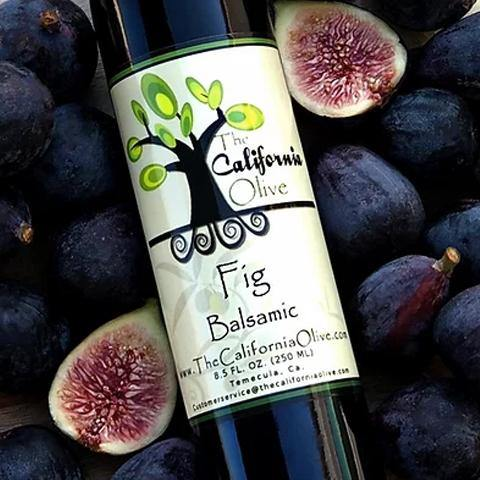Fig Dark Balsamic Vinegar of Modena | San Diego Honey Company®