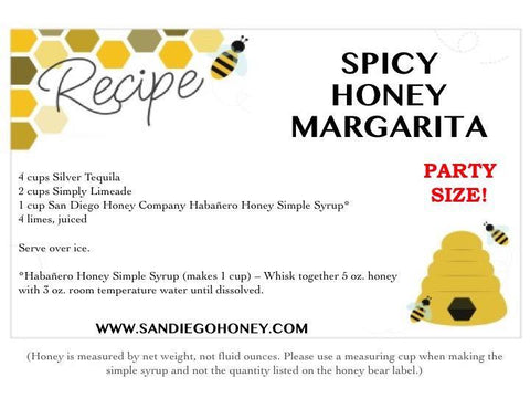 Habanero Infused Raw San Diego Honey