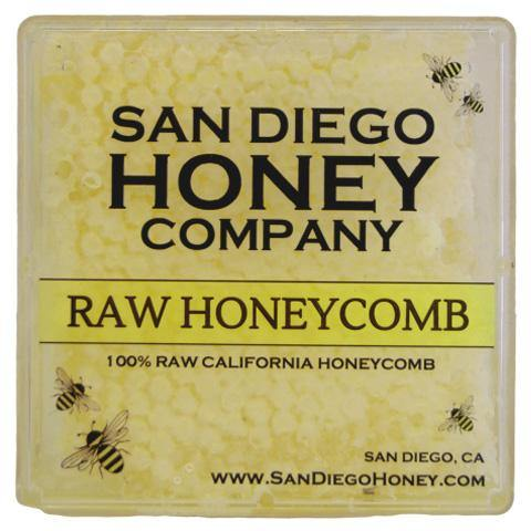 Raw Southern California Comb Honey - San Diego Honey Company®