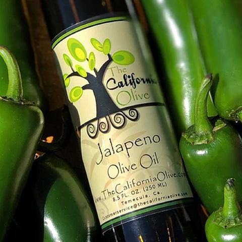Jalapeno Extra Virgin Olive Oil - San Diego Honey Company®