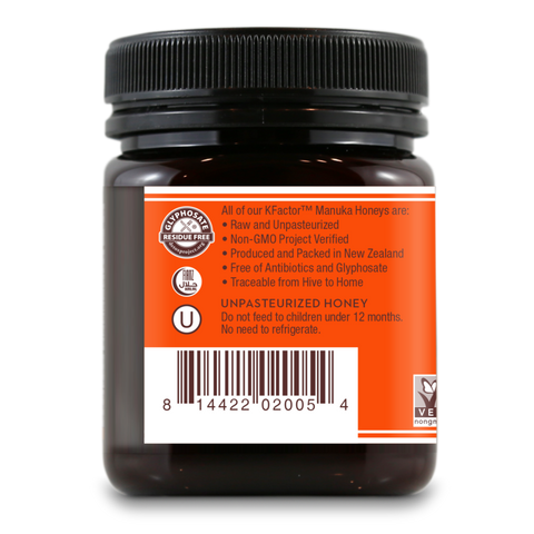 Wedderspoon Raw Monofloral Manuka Honey KFactor 16 - 250 gram - San Diego Honey Company®