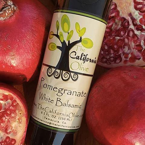 Pomegranate White Balsamic Vinegar of Modena - San Diego Honey Company®